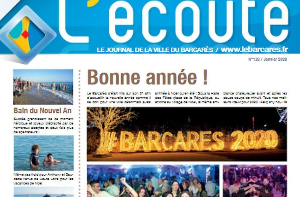 Revista Écoute Le Barcarès