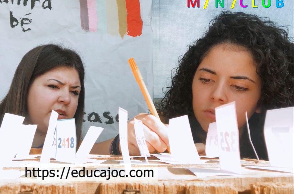TALLER EDUCAJOC CONSTRUIM JOC CAMPING KEFINDE ENS QUEDEM A CASA
