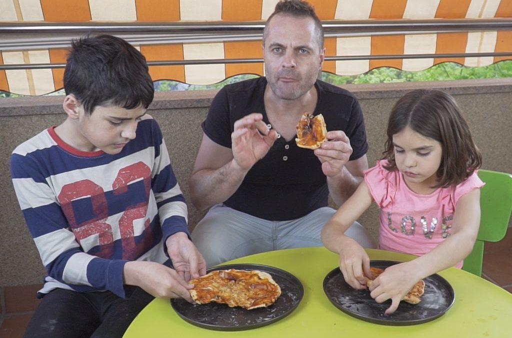 TALLER DE PIZZA CAMPING KEFINDE ENS QUEDEM A CASA