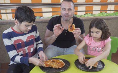 TALLER DE PIZZA CAMPING KEFINDE YO ME QUEDO EN CASA