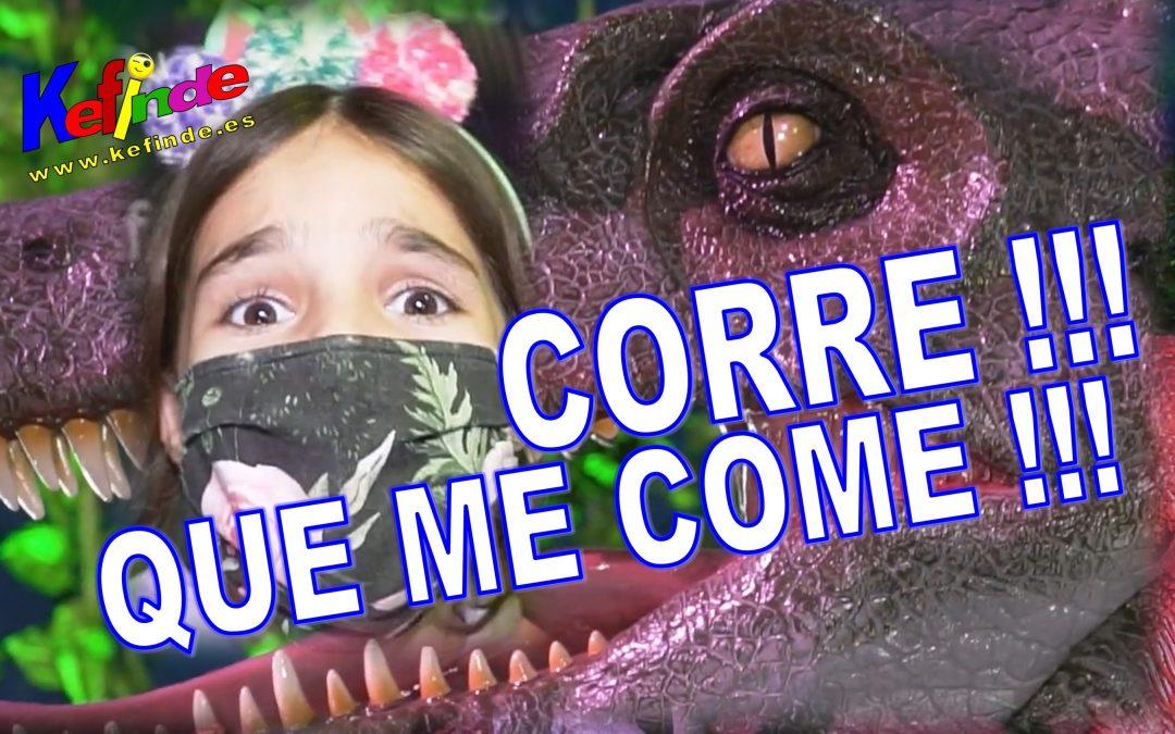 Dinosaures al Poble Espanyol